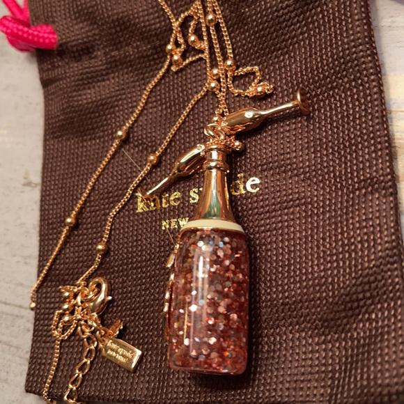 EUC Kate Spade ♠️ Make Magic Champagne Bottle Neck